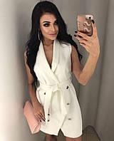 Стильное женское платье-пиджак, фото 1
