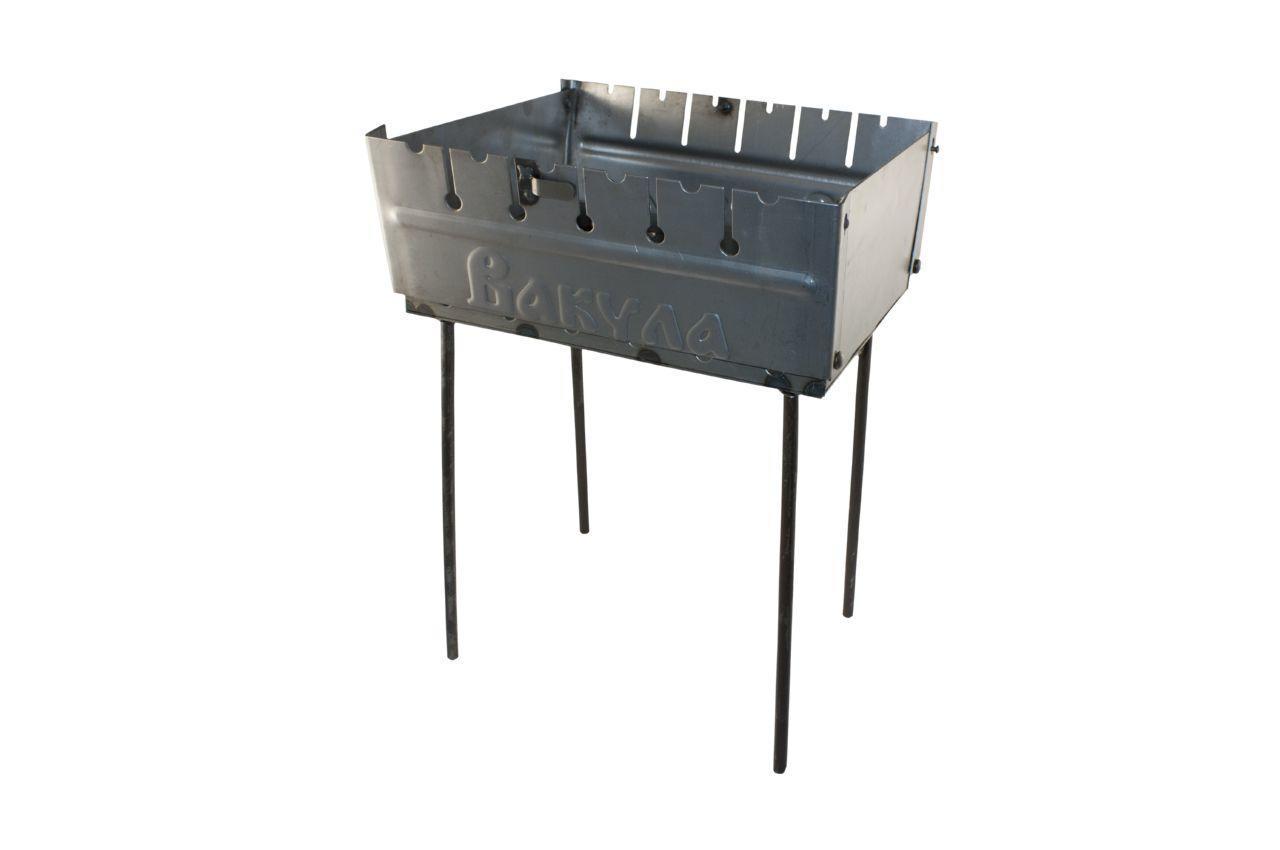 Мангал ТМЗ - 6 шп (холоднокатаный)
