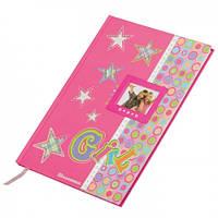 """Школьный дневник 169x234мм, 42арк. """"Girl"""" (Шкільний щоденник)"""