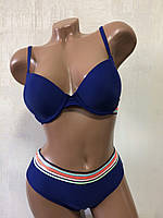 Купальник женский раздельный.синий  M&M Secret 3931D, фото 1