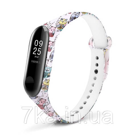 Браслет для Xiaomi Mi Band 3 / 4 Original Owl, фото 2