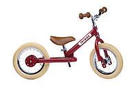 Велобег цвета в ассортименте (балансирующий велосипед, белоговел) ТМ Trybike TBS-2-RED-VIN (6166), фото 1