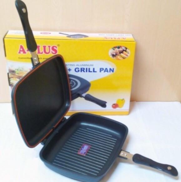 Сковорода для гриля двойная A-PLUS DOUBLE PAN для гриля (30 см)