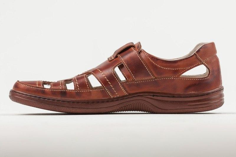Мужские кожаные летние туфли 030 кор. р. 40 41 42 43 44 45