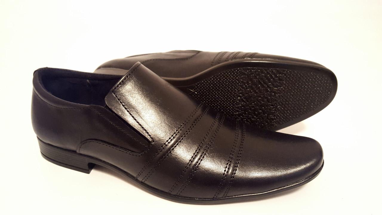 Мужские кожаные туфли Leon р. 40 41 42 43 44 45