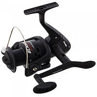 Катушка безинерционная для удилища Salmo Blaster Donka 1350FD / Катушка для рыбалки черного цвета