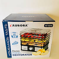 Электрическая сушилка для фруктов и овощей Aurora AU 3372 (5 ярусов)
