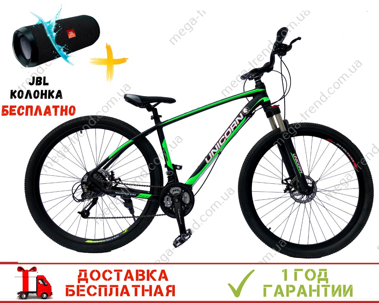 "Велосипед Unicorn - Typhoon 14G 18"" 29"" Xr 2019 Зеленый"