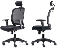 Кресло компьютерное с подголовником Enrandnepr Акцент красный