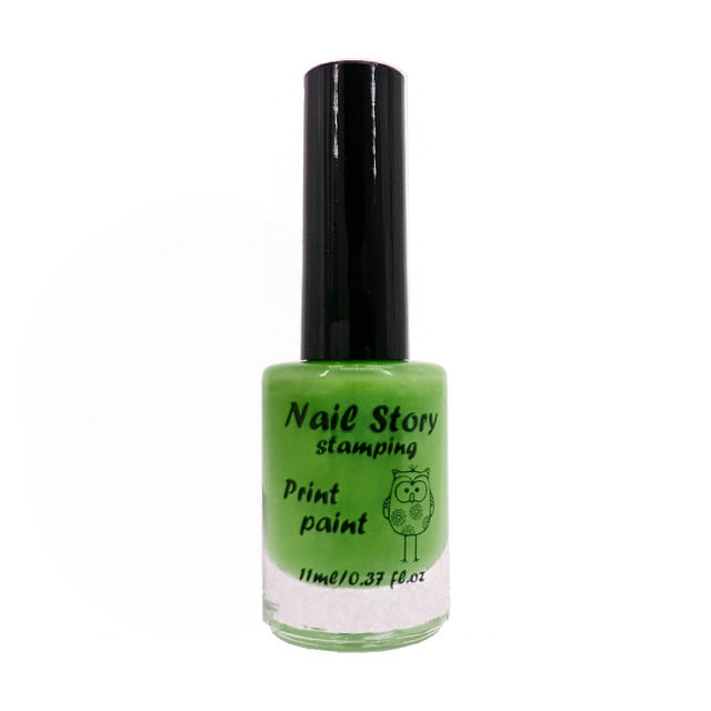 Лак для стемпинга Nail Story №14 (салатовый)