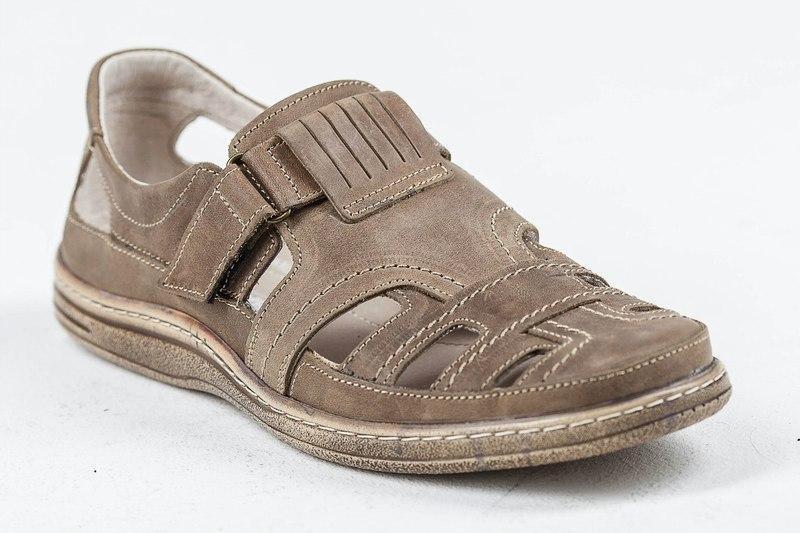 Мужские кожаные летние туфли 030 оливка р. 40 41 42,43,44 45