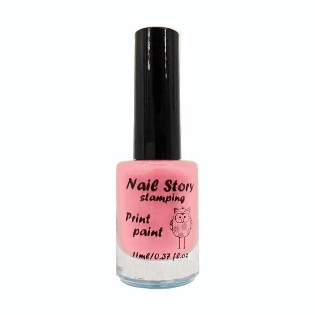 Лак для стемпинга Nail Story №17 (нежно-розовый)