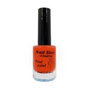 Лак для стемпинга Nail Story №18 (оранжевый)