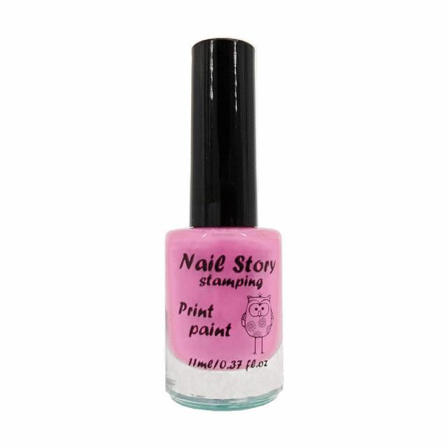 Лак для стемпинга Nail Story №20 (нежно-лиловый)