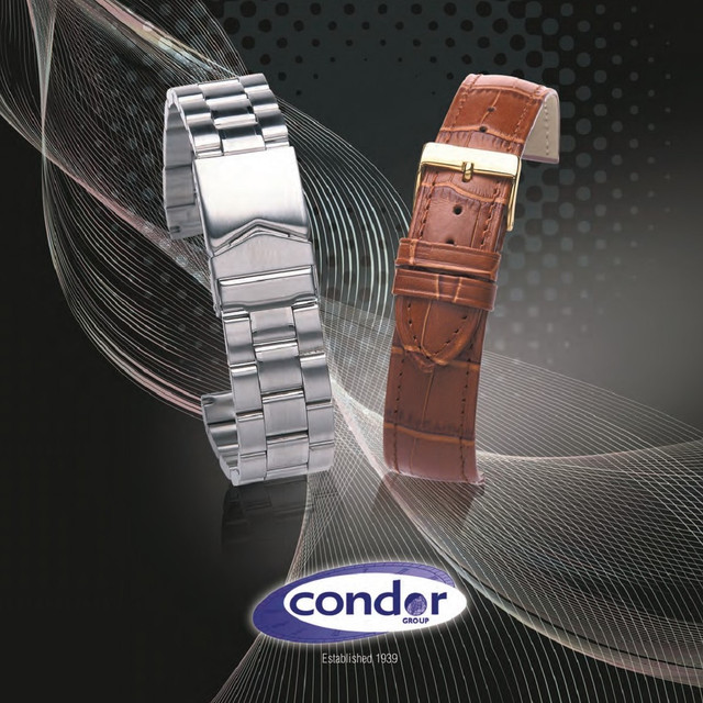 Ремешки Condor - из натуральной кожи и каучука. Бренд из Великобритании