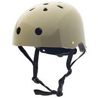 Детский защитный велосипедный шлем Coconut (р.  44-51 см) ТМ Trybike Оливковый COCO10XS