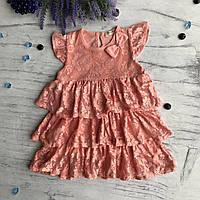 Летнее платье Breeze 131. Размеры 92 см, 98 см, 104 см, 110 см, 116 см, фото 1