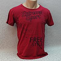 Футболка  мужская / молодежная, Турция. Модная молодежная футболка из коттона.