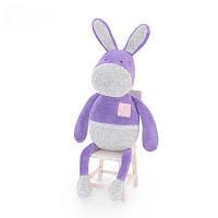 Мягкая игрушка Пурпурный ослик, 33 см Metoo