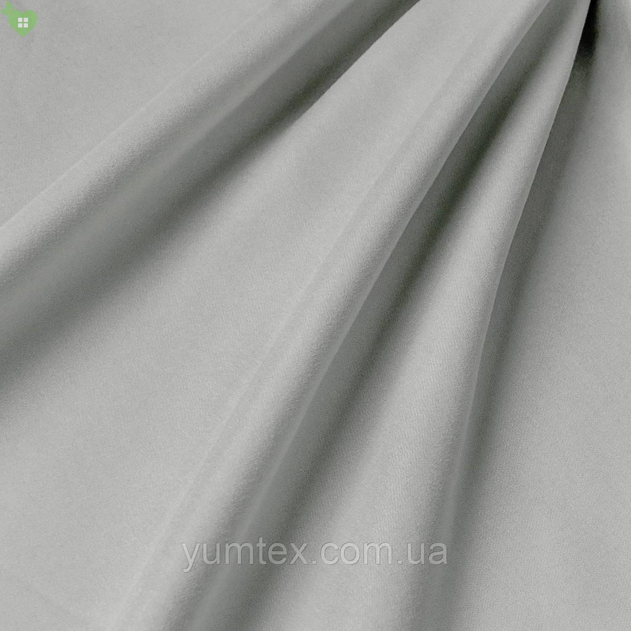 Подкладочная ткань с матовой фактурой перламутрового темно-серого цвета Испания