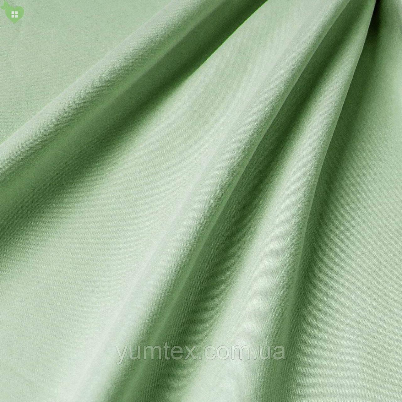 Подкладочная ткань с матовой фактурой блестящего желтовато-зеленого цвета Испания