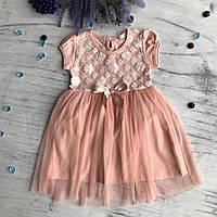 Летнее платье Breeze 135. Размеры 104 см, 110 см, 116 см, 122 см, 128 см