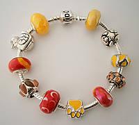 Женский браслет Pandora (Пандора) летний горячий, фото 1