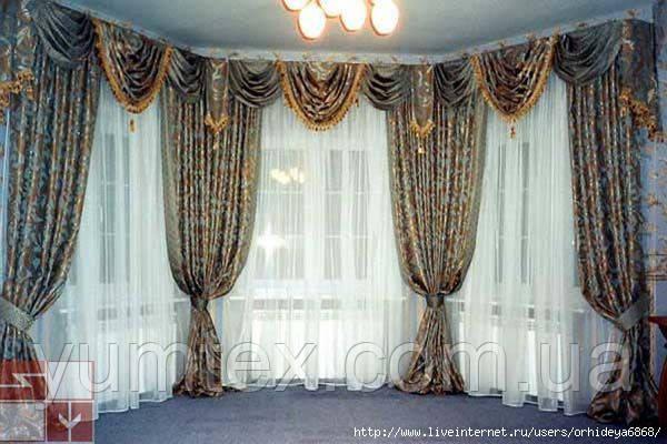 Пошиття штор на тасьмі, 50 грн за погонний метр полотна