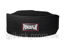 Пояс для важкої атлетики PowerPlay 5535 Чорний (Неопрен) S