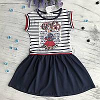 Летнее платье Breeze 137. Размеры 116, 122, 128, 134, 140, 152 см.
