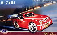 Конструктор деревянный sea-land автомобиль В-740і  цветной 4-е пластины