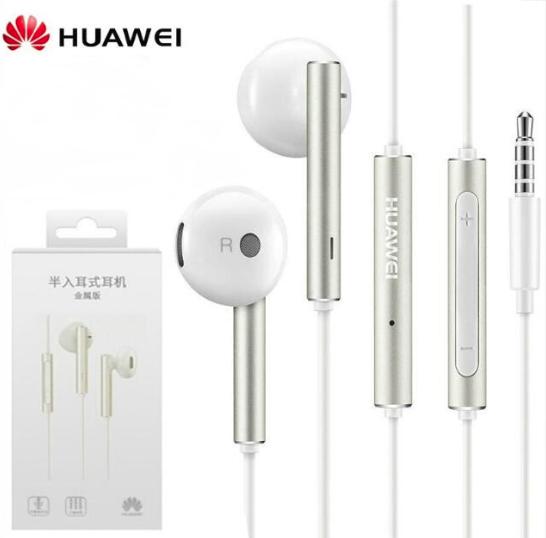 Huawei Honor AM116 фирменные оригинальные наушники с микрофоном Цвет белый