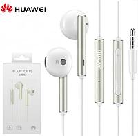 Huawei Honor AM116 фирменные оригинальные наушники с микрофоном Цвет белый, фото 1