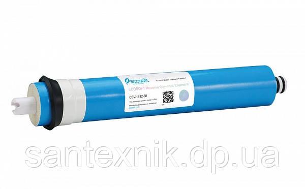 Мембранный элемент Ecosoft 50GPD для домашних фильтров обратного осмоса