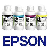 Комплект чернил ColorWay Epson L100/L200, 4x200 мл, краска для принтера эпсон для картриджа епсон чернила