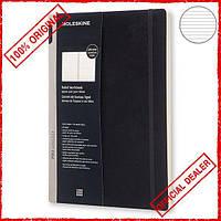 Блокнот Moleskine Workbook  A4 в линию PROWB51SBK