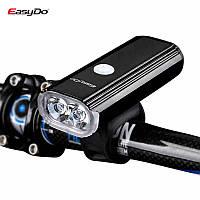 Велосипедный фонарь Easydo EL-1110 Dual CREE XPG 1000Lm 4400mAh