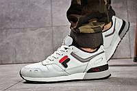 Кроссовки Fila мужские, белые, материал-кожа, текстиль, подошва-пена, код DO-15773.