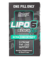 Для снижения веса Nutrex Lipo-6 Black Hers Ultra Concentrate - 60 капсул