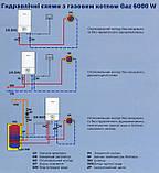 Двоконтурний димохідний газовий котел Bosch Gaz 3000 28-2KE, фото 3