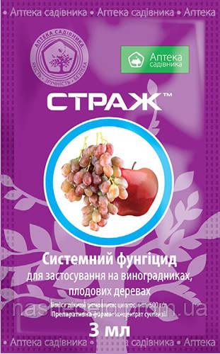 Фунгицид Страж 3 мл. Аптека садiвника (Аптека садовника)