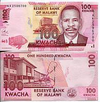 Малави 100 квача 2012 год состояние UNC