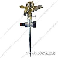 Дождеватель импульсный на металлическом колышке (металл)