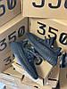 """Мужские кроссовки Adidas Yeezy 350 """"Black Reflective"""" (в стиле Адидас ), фото 3"""