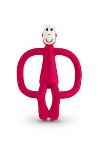 Іграшка-прорізувач Мавпочка для дітей з 3-х міс. ТМ MATCHISTICK MONKEY Червоний MM-T-004