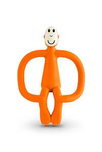 Іграшка-прорізувач Мавпочка для дітей з 3-х міс. ТМ MATCHISTICK MONKEY Помаранчевий MM-T-005