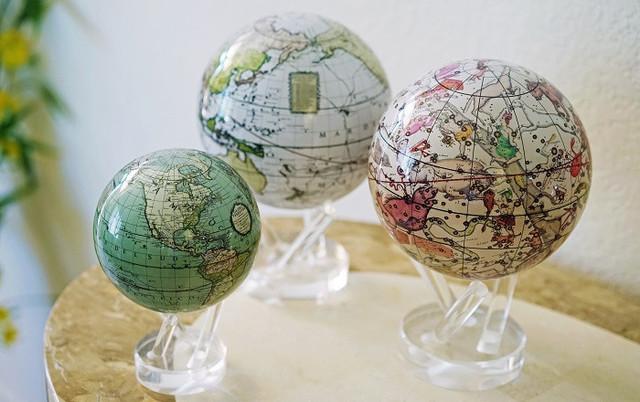 Глобус Мова США