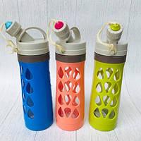Бутылка для воды «Капельки», на шнурке  600 мл