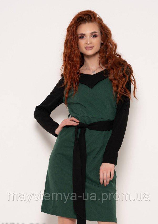 4e2d26e0a5fe037 Платья ISSA PLUS WN4-806 M зеленый - Интернет магазин одежды