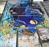 Фотопанно на керамической плитке в Днепре 1
